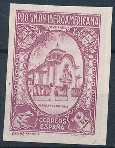 [3978] Spain 1930 Ibero good stamp very fine no gum proof color in light violet