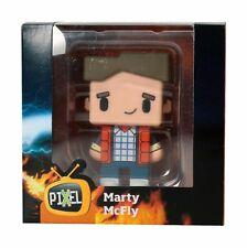 FIGURA PIXEL DE MARTY MCFLY DE 7 CM. DE ALTURA(REGRESO AL FUTURO).NUEVA EN CAJA.