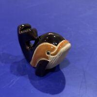 Vintage Artesania Rinconada Brown Dolphin Baby #320B Classic Design Collection