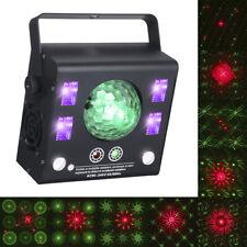 4-in-1 LED DMX512 Laser Projektor Bühnenlicht Party KTV Club DJ Disco Licht DE