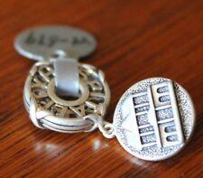 Williamsburg Inn Modular Wheel Charm Storywheels Bead Sterling Silver 2 grams