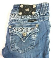 Jeans Clothing, Shoes & Accessories Miss Me Denim Jean Sequin Size 25 Boot Buckle JW5581B Distressed Wash