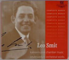 LEO SMIT: Complete Piano, Orchestral, Chamber DONEMUS 4x CD Netherlands Box