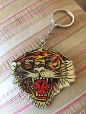 Vintage Don Ed Hardy Designs Roaring Tiger Keychain