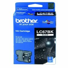 Genuine Brother LC67BK Black Ink Cartridge