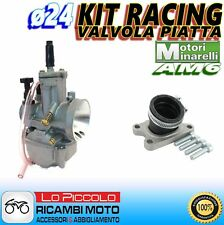 CARBURATORE RACING POLINI PWK ø24 + COLLETTORE YAMAHA DT 50 R / SM MINARELLI AM6