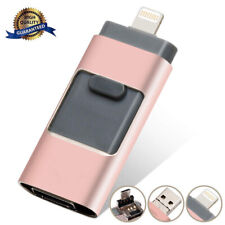 256/512Gb Otg Memory Photo Stick For iPhone 7 8 11 X 12 iPad Usb Flash Drive Us