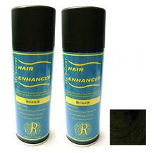 My Secret Hair Enhancer BLACK for thinning hair loss 5 oz - TWO PACK VALUE