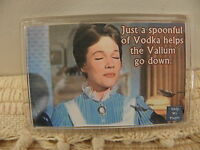Mary Poppins Just A Spoonful Of Vodka Helps The Valium Go Down Magnet