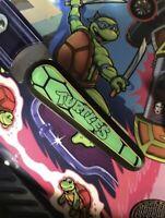 Turtle Power Flipper Bat Topper MODs for TMNT pinball (Set of 3)