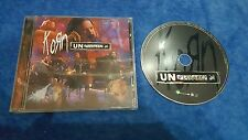 Unplugged Korn MTV cd live usato Virgin music from EMI press 2007