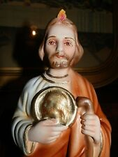 """GORGEOUS 8"""" JUDE STATUE MADE BY NUNS IN CANADA"""