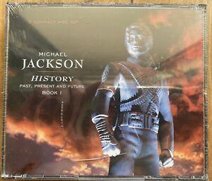 Michael Jackson - HIStory [Past, Present & Future Book 1] 2xCD - New