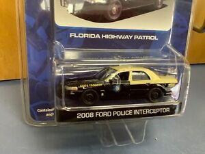 Florida highway patrol 1/64 2008 Ford Crown Vic Police interceptor pursuit 2010