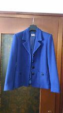 Giacca blu in lana, taglia 42