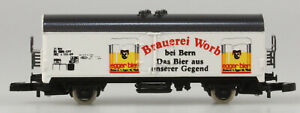 Märklin Z Brauerie Worb Bier Refrigerator Car, New, Original Box