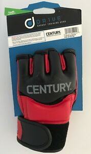 Century Drive Fight Gloves Red (Mens) X-Large