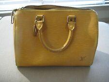 Authentic Louis Vuitton Hand Bag Speedy25 M43019 Yellows Epi 241534