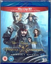 3D BLU-RAY Pirates of the Caribbean: Salazar's Revenge (Dead Men Tell No Tales)