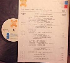 RADIO SHOW: 8/2/88 ELLIE GREENWICH & JEFF BARRY! SHANGRI LAS, RONETTES, CRYSTALS
