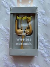HeyDay Wireless Earbuds Gold