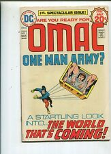 Omac #1 Very Fine 1st Appearance  One Man Army    CBX28