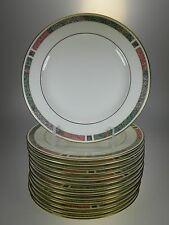 Pfaltzgraff Cabouchon Salad Plates Set of 14 Bone China Made in USA