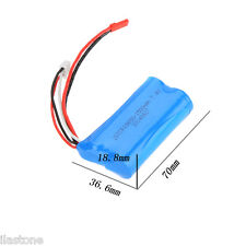 2X 7.4V 1500mAh Battery for Double Horse 9118 RC Helicopter Plane US