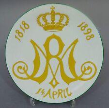(MT331)Erinnerungteller Meissen Marie von Sachsen-Altenburg Königin von Hannover