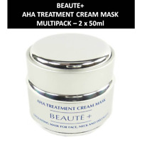 Beaute+ - AHA Treatment Cream Mask -  Maske -  Gesichts Pflege -  2 x 50ml