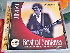 SANTANA JINGO ZOUNDS GOLD- BEST CD  ( 24 Karat Gold ) Audiophlie