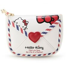 Sanrio Hello Kitty Leather Multi Pouch Cosmetics Travel Pouch Bag Japan GKHK147