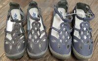 JBU by Jambu Women Sydney Sandal / Flat Sandals - Denim or Charcoal