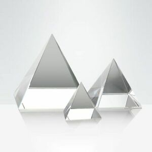 Egyptian Crystal Miniature Healing Pyramid Figurine For Home & Office Decoration