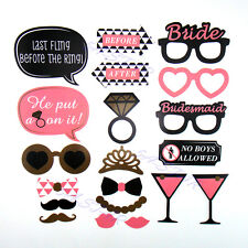 20pcs Hen Party Selfie Photo Props Booth Kit Hen Night Games Accessories&Favours