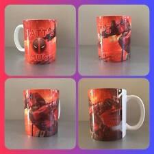 personalised mug cup  Deadpool  American superhero Wade Wilson Ryan Reynolds :)