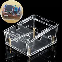 83x83x30mm Acrylic Box Shell For TFT GM328 Transistor Tester Diode LCR ESR PWM