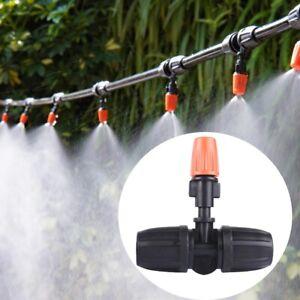 50x Nebeldüse Sprinkler System Sprühdüse Garten Bewässerungsszstem Nebel Tropfer