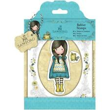Gorjuss The Little Friend Doll Stamp by Santoro London