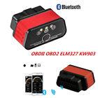 Bluetooth Obd2 Obdii Auto Fault Code Reader Diagnostic Scanner Tool Kw903 Elm327