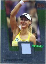 2008 ACE GRAND SLAM TENNIS JERSEY #JC13: ELENA DEMENTIEVA - MATCH WORN SWATCH