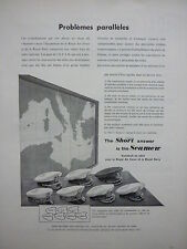 6/1955 PUB SHORT ROYAL AIR FORCE NAVY SEAMEW AVION NAVAL CASQUETTE FRENCH AD