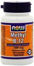 Methyl B-12 100 LOZ 1000mcg By Now Foods