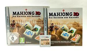 Mahjong 3D - Die Krieger des Kaisers   (New) 3DS/ 3DS XL, 2DS   OVP