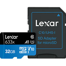 US Seller High-Performance Lexar 32GB 32 G GB 95MB/s 633x Micro SD SDHC MicroSD