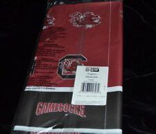 South Carolina Gamecocks Plastic Table Cover Collegiate 54 in x 108 in NIP