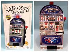 NEW Jumbo Slot Machine Coin Savings Bank - 3 Reels / 777 Jackpot