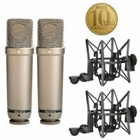 Rode NT1A Cardioid Condenser Microphones (matched pair)