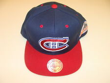 Montreal Canadiens Cap Hat Snapback Hockey Mitchell Ness Champions Patch 1993