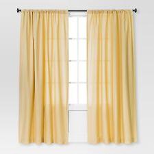 NEW Farrah Curtain Panel - Threshold 54 X 84 Yellow